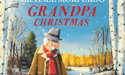 Grandpa Christmas picture book cover