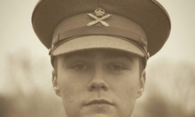 Actor in Private Peaceful at the Pick Me Up theatre