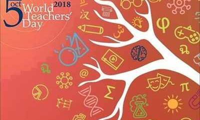 World Teachers' Day 2018 Logo