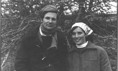 Michael and Clare Morpurgo in 1976