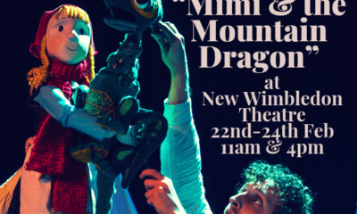 Mimi and the Mountain Dragon New Wimbledon Theatre Poster