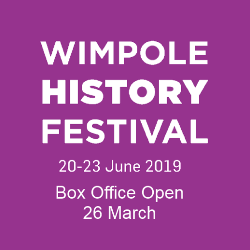 Wimpole History Festival Banner 2019