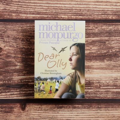Dear Olly by Michael Morpurgo Lifestyle Photography