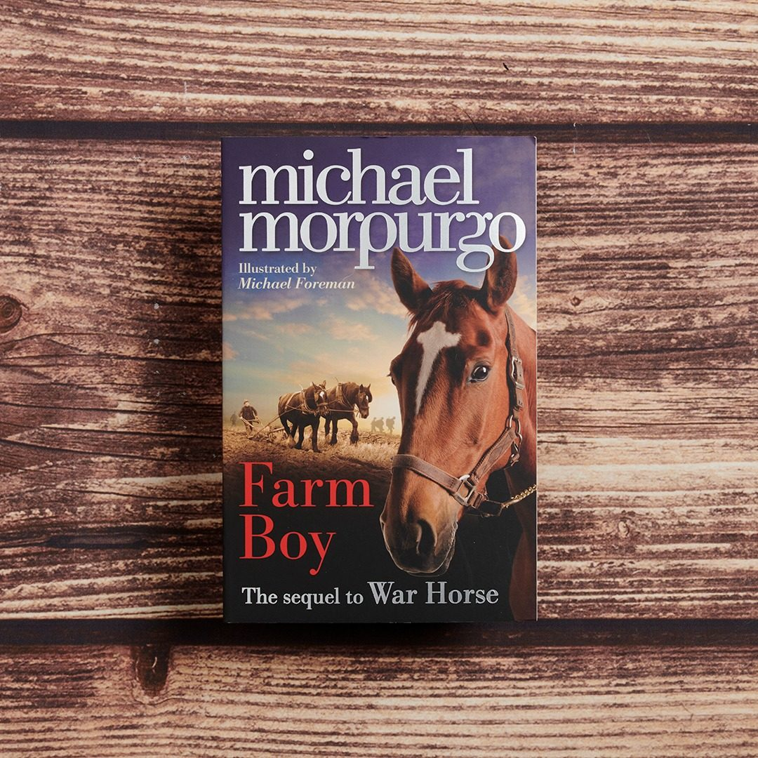 Farm Boy by Michael Morpurgo Lifestyle Photography