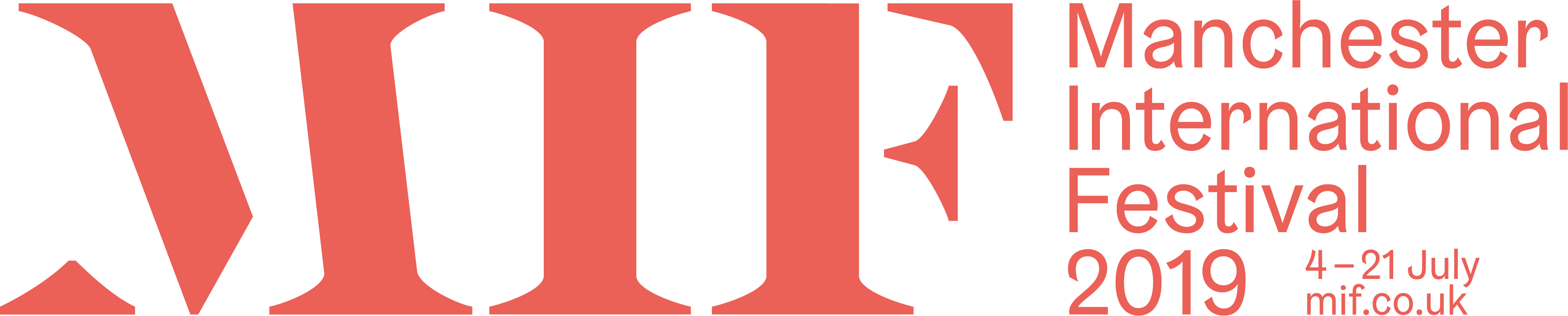 Manchester International Festival 2019 Logo (Property of MIF2019)