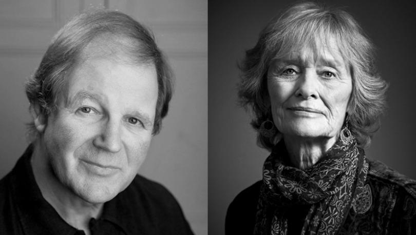 Michael Morpurgo and Virginia McKenna